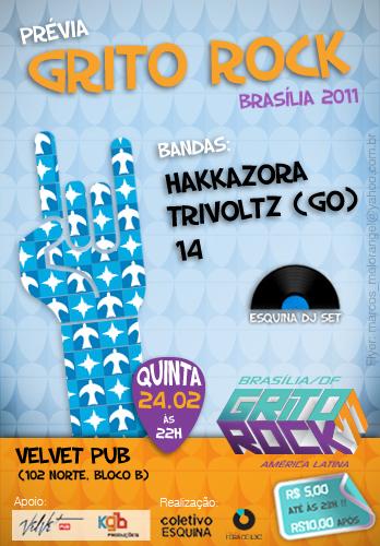 NOITE FORA DO EIXO ESPECIAL GRITO ROCK BRASÍLIA 2011