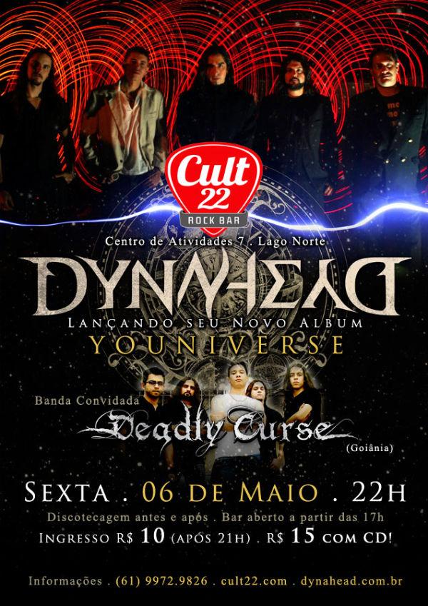 Noite Metal Attack 3 - com Dynahead e Deadly Curse - http://cult22.com