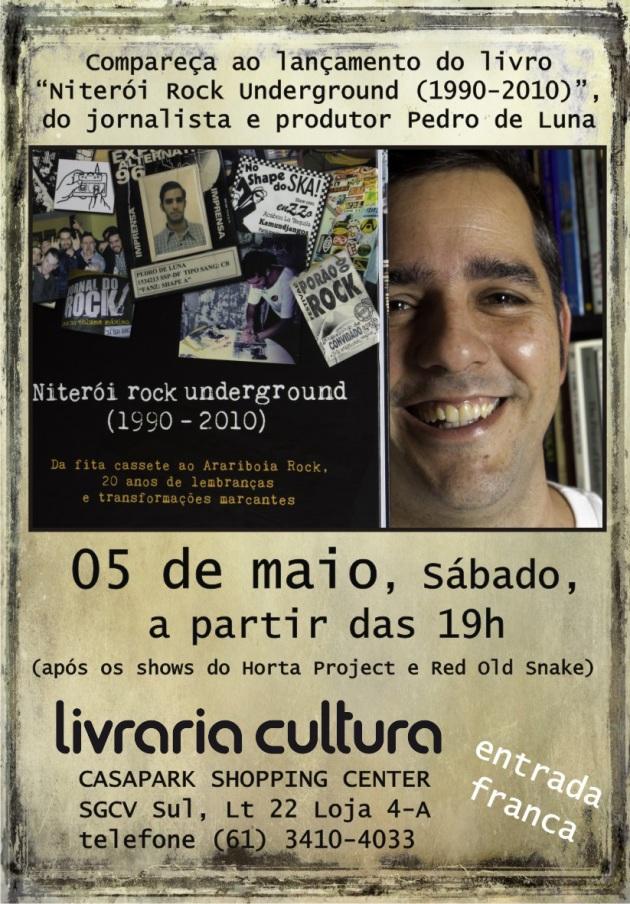 Livro que retrata a cena musical independente é lançado em Brasília