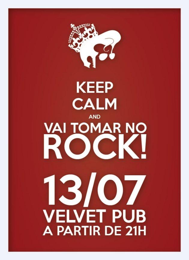 bap bap loola uh bap bap lulu rockabilly hillbilly vai tomar no rock e ajeita esse topete! 13/07, 21h, Velvet Pub - 102norte... É isso mesmo…. vamos tomar no rock!? confirme sua presença na comemoração do dia mundial do rock!!!!!!!!! https://www.facebook.com/events/256657167767178/ VAI TOMAR NO ROCK! Grande festa em comemoração ao Dia Mundial do Rock!!! Vá fantasiado de um ícone do rock e concorra a uma garrafa de Tequila!!!! Com A GIG DOS SONHOS: - Adriano Pasqua (Live Wire) - Kameni (Electrodomesticks) - Johnny (Brown-Há) - Marcelo Seabra (Ape X And The Neanderthal Death Squad) - Gustavo Halfeld (Cassino Supernova) - Iano Fazio (Etno) - Jack Coaracy (Watson) DISCOTECAGEM: - Gustavo Bill (Macaco Malvado) - Esquina DJ SET 13/07, sexta-feira, 21h R$10 Velvet Pub, 102 norte!
